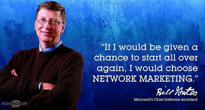 Bill Gates Network Marketing Bill Gates on Network