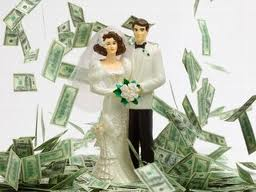 get rich by marriage