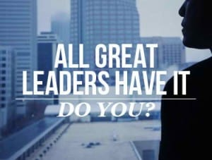 what great leaders have